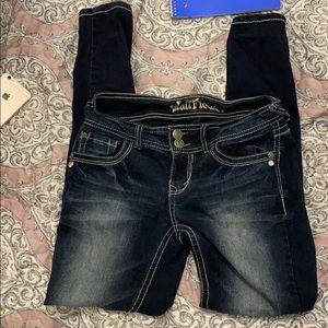 Wallflower Dark wash jeans